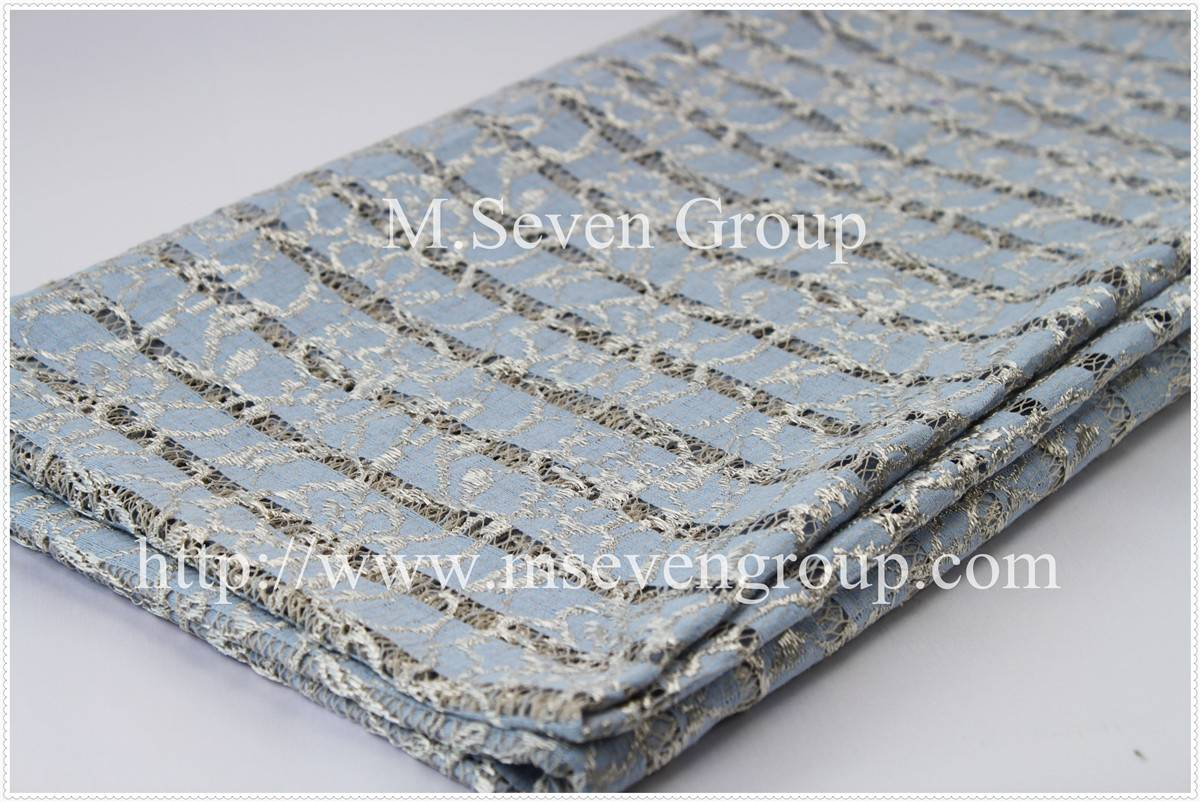 New arrival Fashion lace laminate fabric for women,openwork embroidery polyester stretch lace fabic