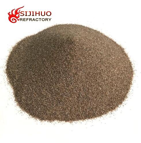 Brown fused alumina oxide corundum powder for sale China manufacturer