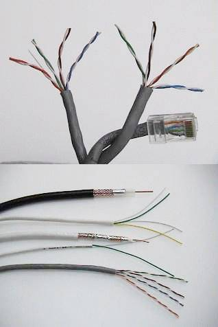 Cable ,TV Antenna, Computer Network W