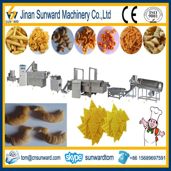 Twin-screw Fried Snack Food Extruder Machine