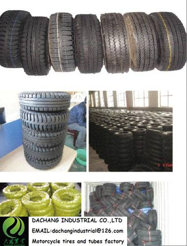 400-8 8PR  tricycle tire with butyl rubber tube