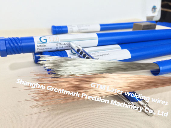 GTM Laser welding wires/rods NAK80 dia.0.2mm,0.3mm,0.4mm,0.5mm,0.6mm(made in Germany)