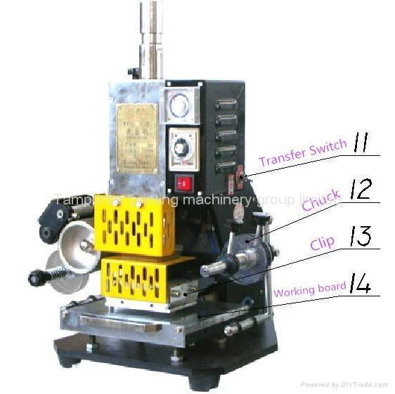 Tam-90 Small Hot Stamping Machine