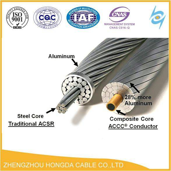 Aluminum Conductor Steel Reinforced ACSR bare conductor overhead power cable