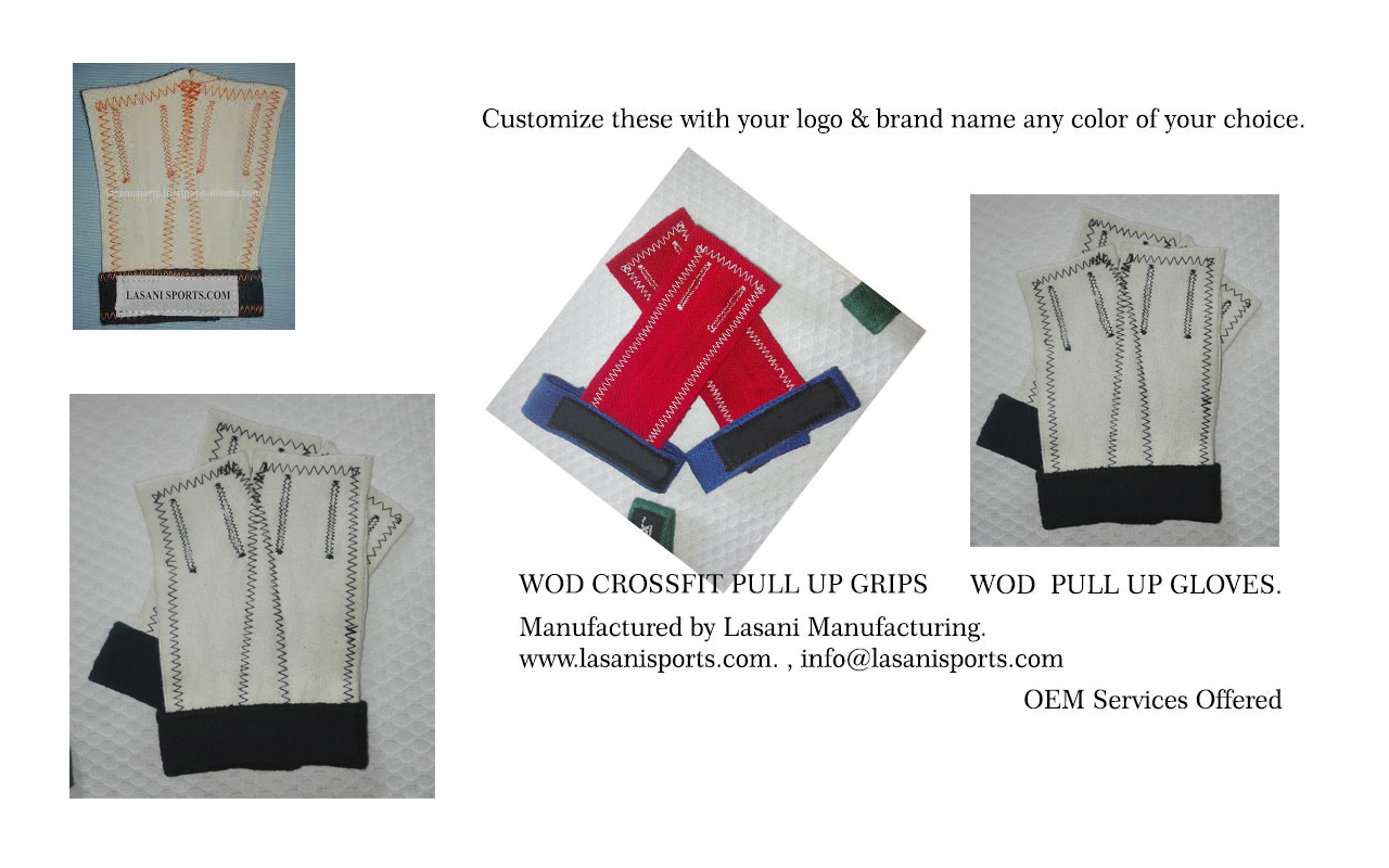 Crossfit WOD Grips & Gloves Fabric JAW style