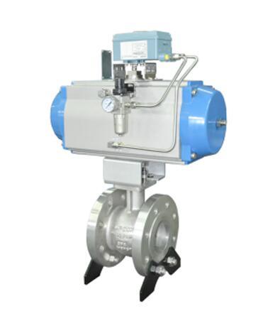 large flow adjustable range eccentric rotating valve