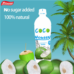 Houssy canned natural coconut water