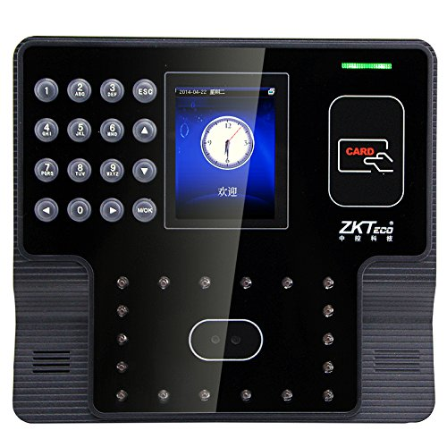 Face and RFID Card Time Clock With USB TCP IP RS232 485 Facial Time Recorder With Free Software