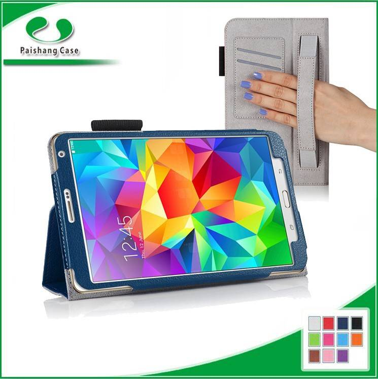 Top Selling Products for Samsung Galaxy Tab S 8.4 hand strap cute minion leather case flip cover cas
