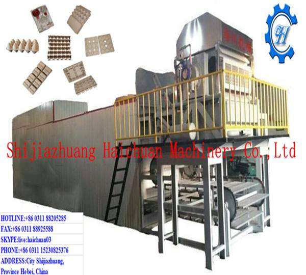 Haichuan New-type High-production Paper Pulp Egg Tray Making Machine