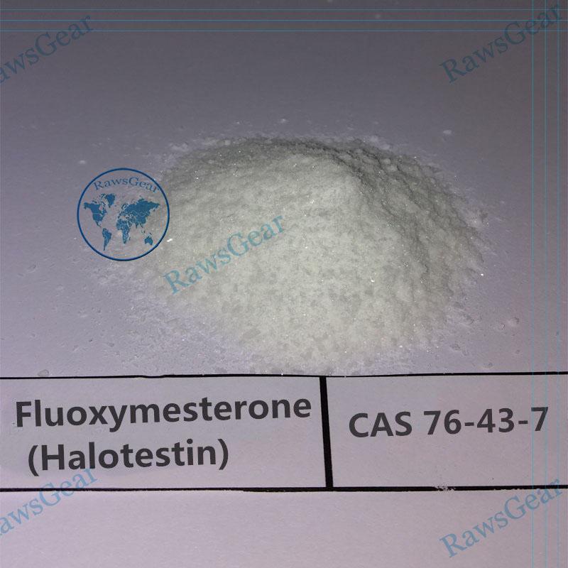 Fluoxymesterone (Halotestin) Raw powder CAS 76-43-7
