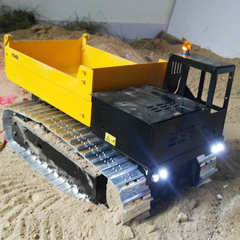 RC Model 1:12 hydraulic dump truck