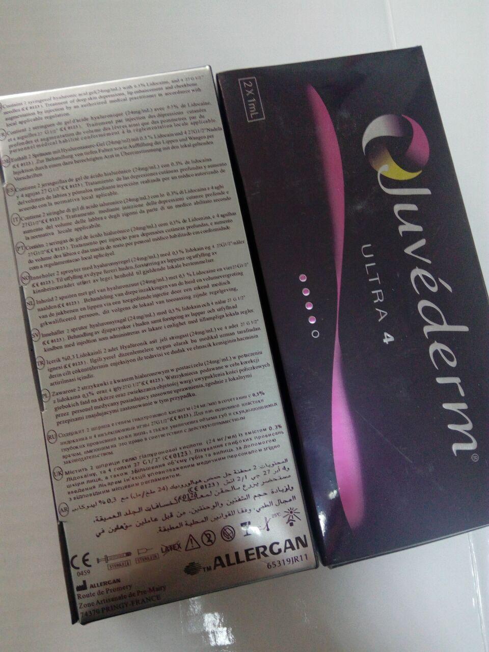 Juvederm Hot Selling Injectable Hyaluronic Acid Dermal Filler