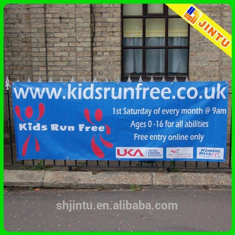 Customized Large Format Digital Printing Banner Display