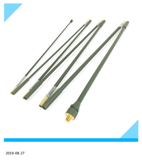 Military Whip Collapsible HF Antenna 7 elements AT/271 prc