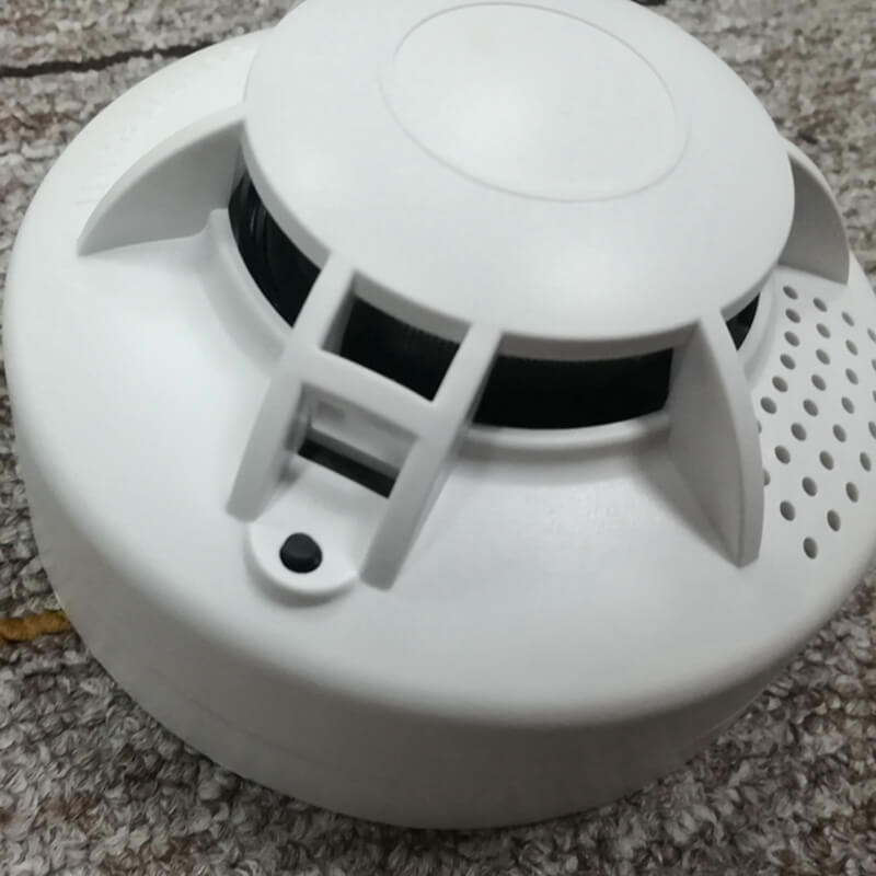 independent smoke detector with contact alarm photoelectric sensor