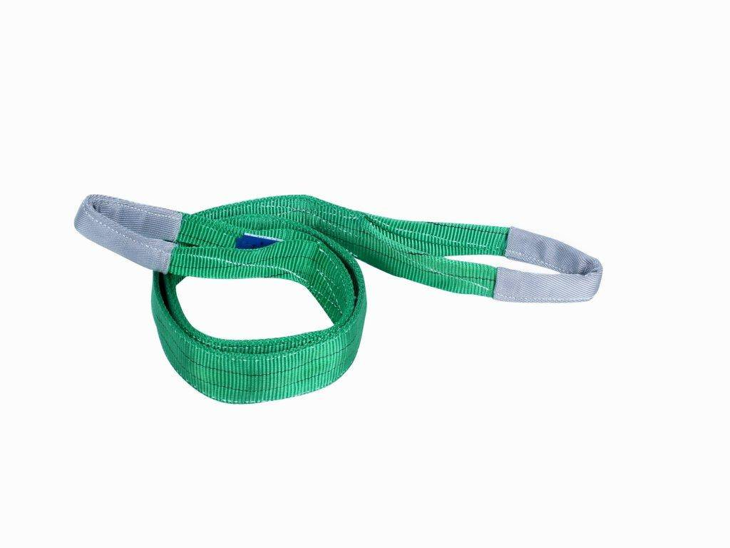 CE GS ISO approved polyester webbing sling eye to eye
