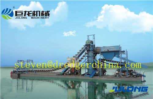 Julong Bucket Chain Dredger/Sand Dredger/Gold&Iron Dredger