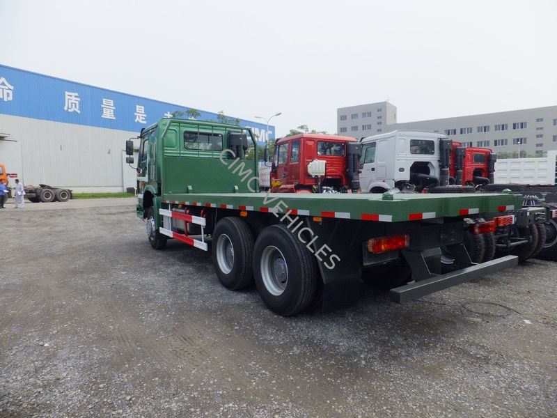 Flat Bed Truck with Twist Locks for Container's transport