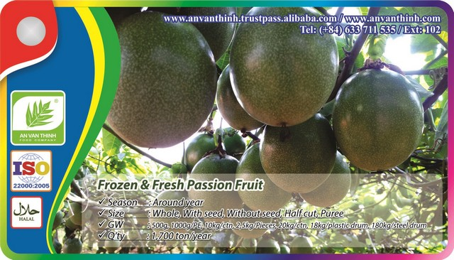 Frozen Passion fruit