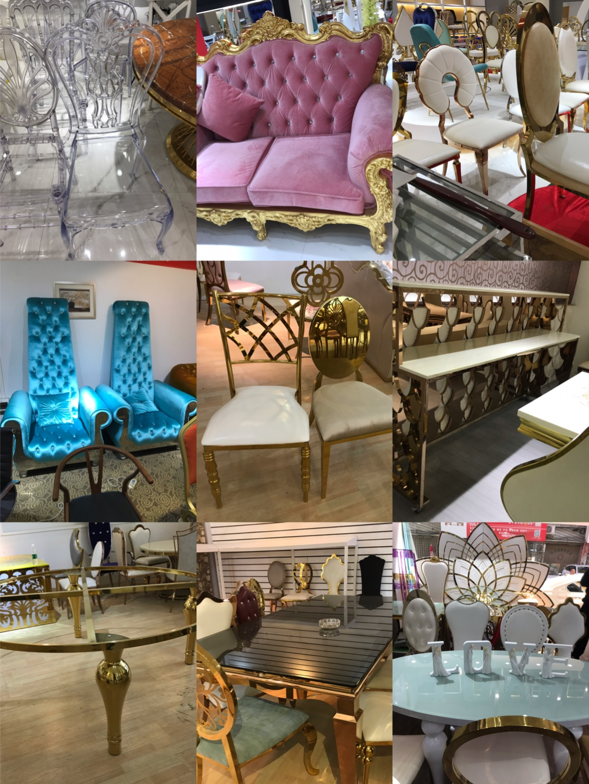 Guangzhou Sourcing agent Foshan wedding furniture wholesale markets China building materials guide