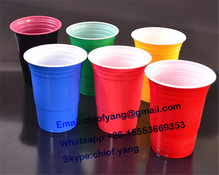 450ml disposable plastic cup , 16oz solo cup , red cup , party cup