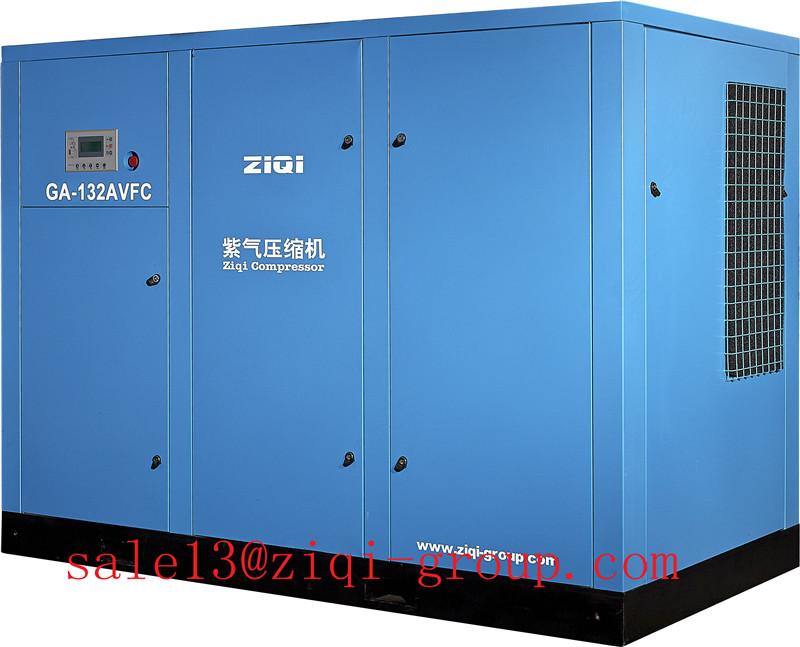 7 Bar Electric Screw Compressor AC Power 55KW - 220KW Screw Air Compressor