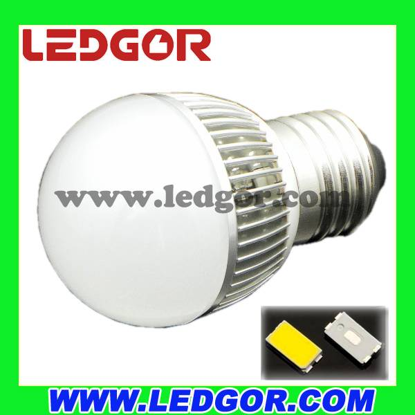 China supplier SMD 5630 4W 5W G45 led bulb light