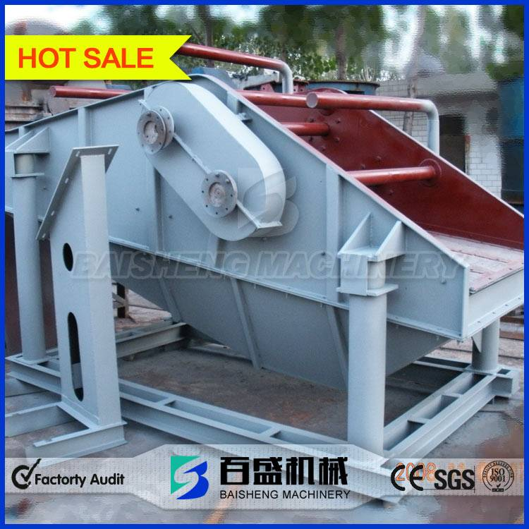 Baisheng Industrial compost circular vibrating screen machine