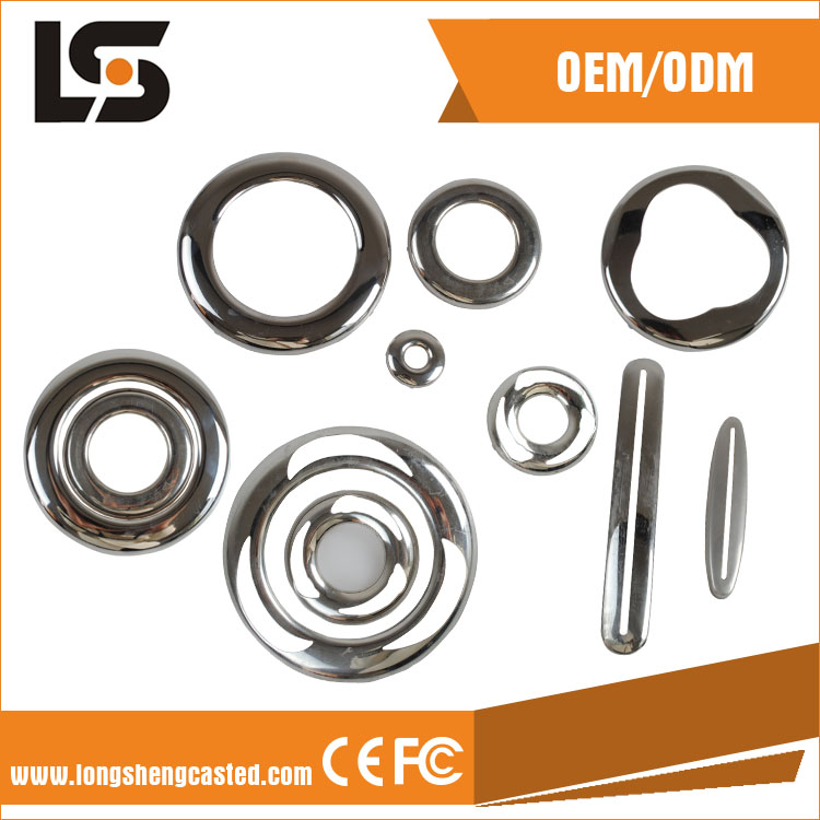Polished Stainless Steel Sheet Metal Stamping Parts
