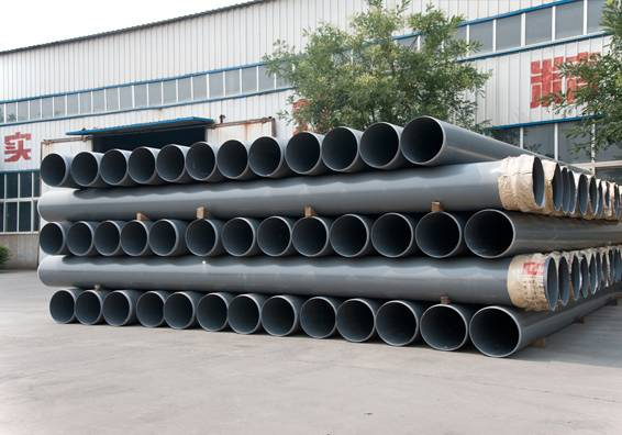 UPVC/PVC-M pipes for water supply