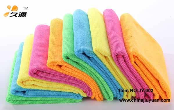 easy to wash, super absorbency cleaning microfiber warp knitted towel/cloth