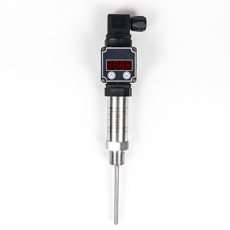 Factory insert type 0-10V PT100 temperature transmitter for steam