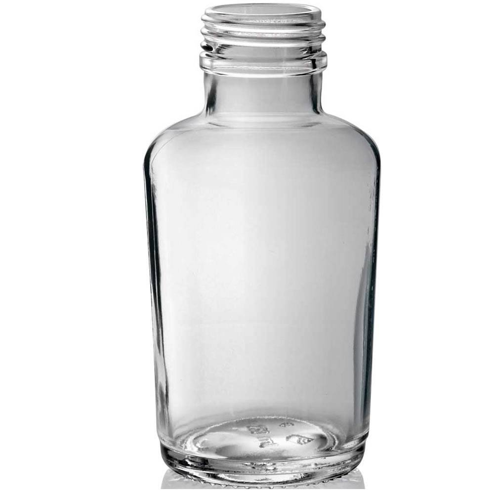 LOTO conical shape glass bottle