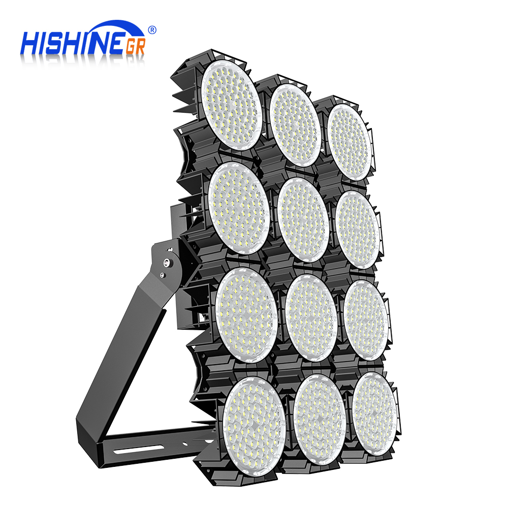 Hishine group 160LM/W led stadium high mast light 300W 500W 600W 700W 1000W 1300W led flood light