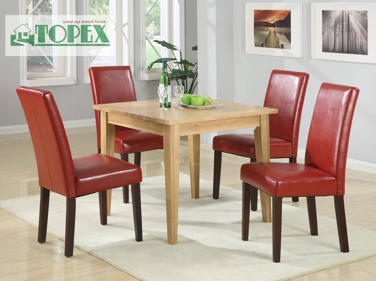 Solid Oak Dinning Table-Square
