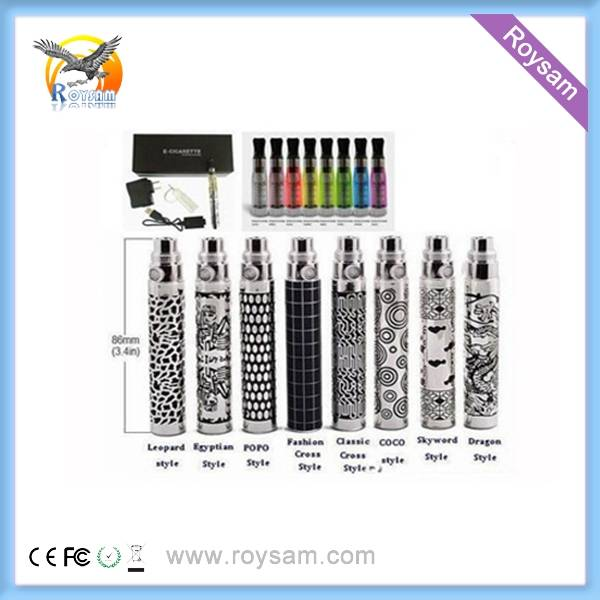 EGO-Q/K Electronic Cigarette with Colorful Designed 650/900/1100mAh Battery
