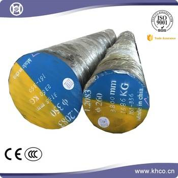 Plastic steel round bar alloy special steel 1.2083