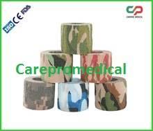Non-woven cohesive elastic bandages