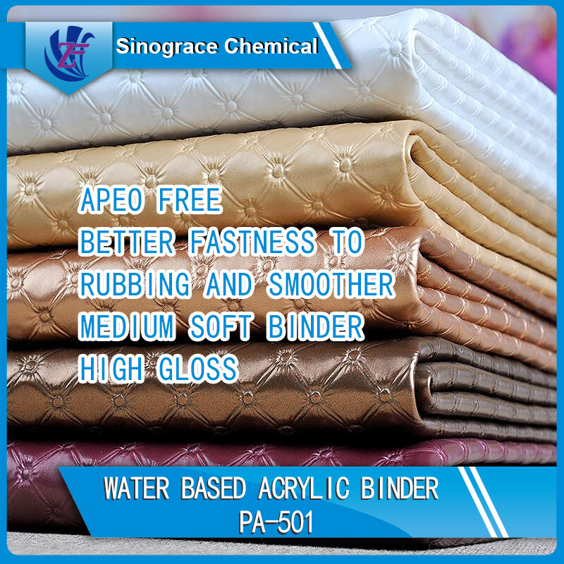 Water Based Medium Soft Acrylic Binder For Leather