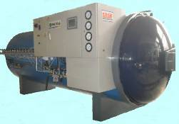 Curing chamber( tyre retreading machine)