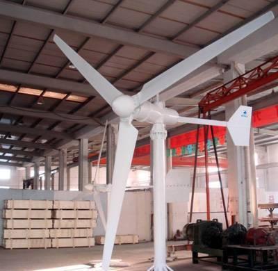 horizontal axis wind power genenrator 200W