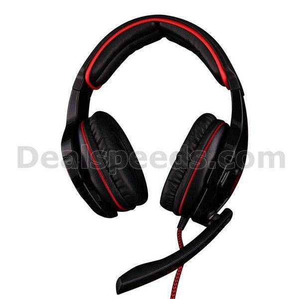 SADES SA-903 Professional stereo 7.1 Channel Usb Gaming Headphone with Mic