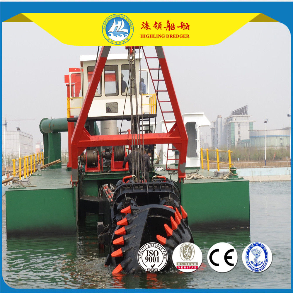 highling cutter suction dredger