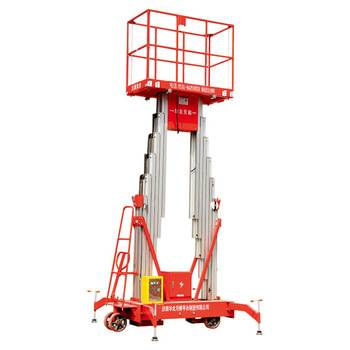 Aluminum hydraulic stair lift mobile man column lift for warehouse