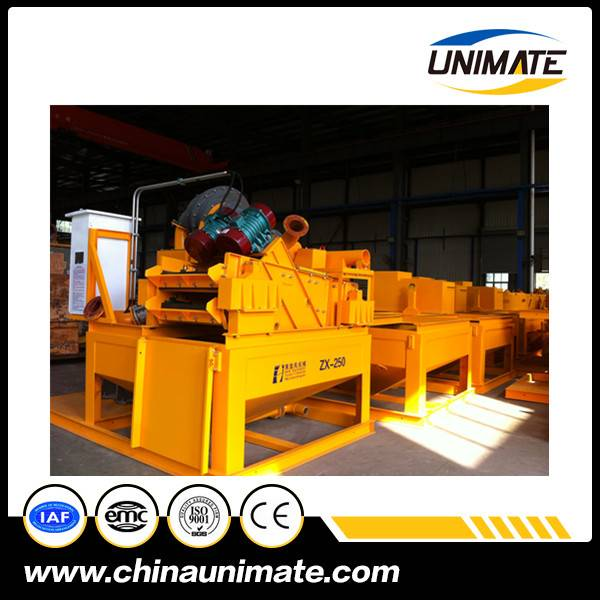 Factory Cyclone cone desander for drilling foundation Drilling mud/ slurry cyclone desander and desi