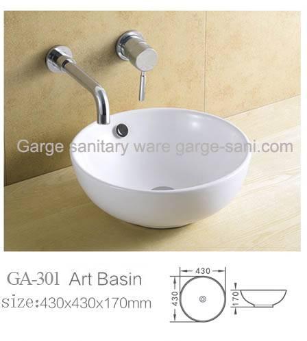 ceramic basin top basin art basin model
