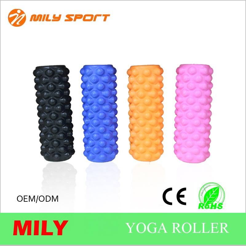 ML-1001 PU eva travel roller hollow