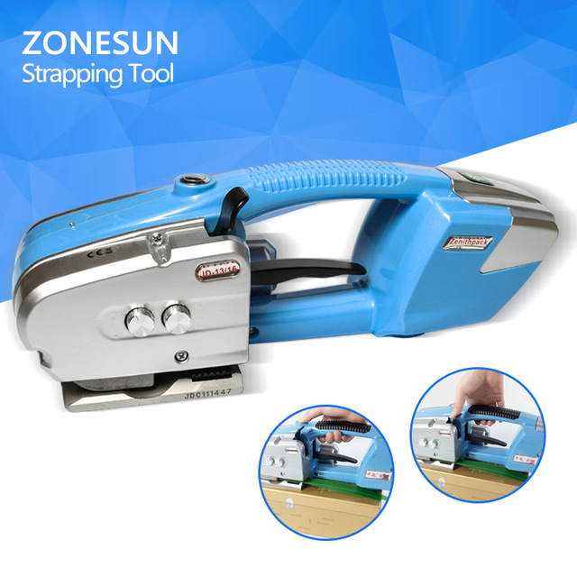 ZONESUN DJ16 Cheapest Battery Power Strapping machine Electric Plastic Strapping machine