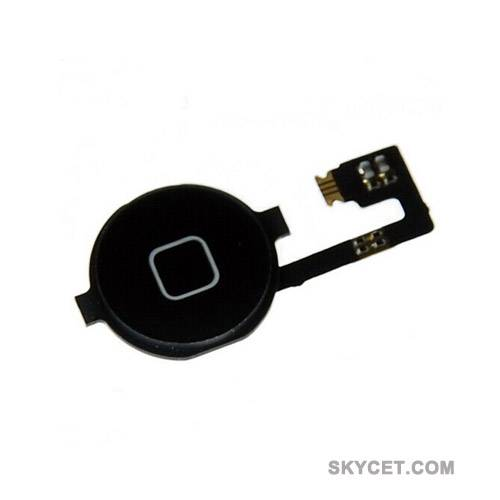 Home Button Assembly For iPhone4-Black-High Quality-Grade A